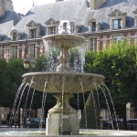 PlaceVosgesFountain